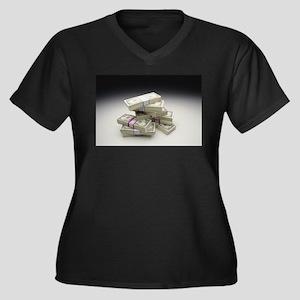 money Plus Size T-Shirt