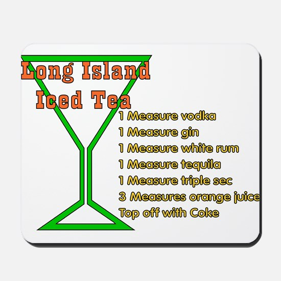 Long Island Iced Tea Mousepad