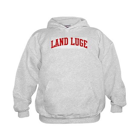 Land Luge (red curve) Kids Hoodie