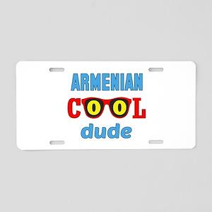 Armenian Cool Dude Aluminum License Plate