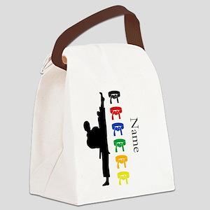Karate Canvas Lunch Bag