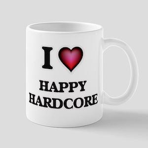 I Love HAPPY HARDCORE Mugs