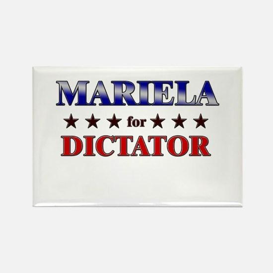 MARIELA for dictator Rectangle Magnet