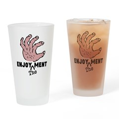 ENJOY the MENT Drinking Glass