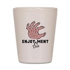 ENJOY the MENT Shot Glass