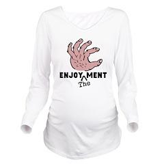 ENJOY the MENT Long Sleeve Maternity T-Shirt