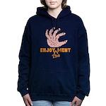 Enjoy the Ments Women's Hooded Sweatshirt