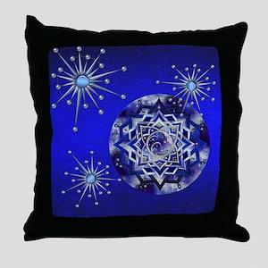 Harvest Moons Blue Moon Throw Pillow