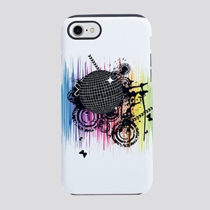 Spectrum Disco Ball iPhone 8/7 Tough Case