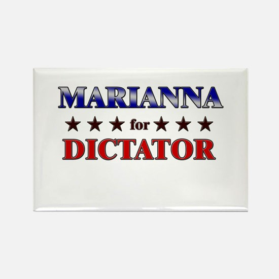 MARIANNA for dictator Rectangle Magnet