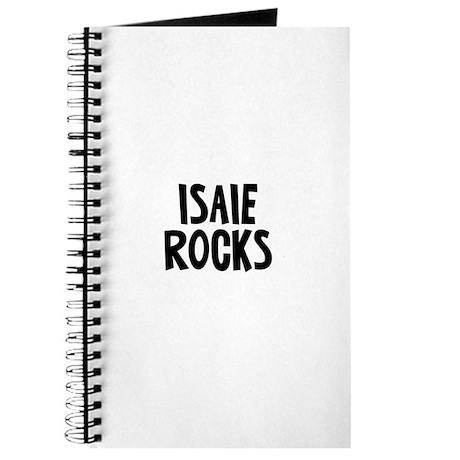 Isaie Rocks Journal