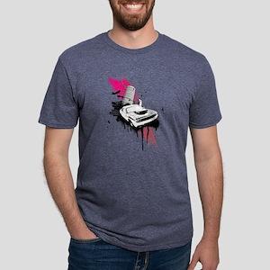 Grunge Pink Car City T-Shirt