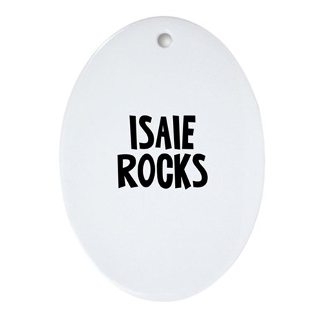 Isaie Rocks Oval Ornament