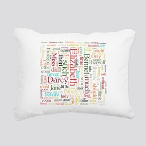 Pride & Prejudice Word Cloud Rectangular Canvas Pi