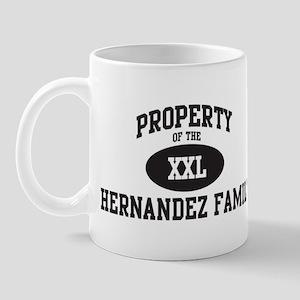 Property of Hernandez Family Mug