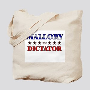MALLORY for dictator Tote Bag