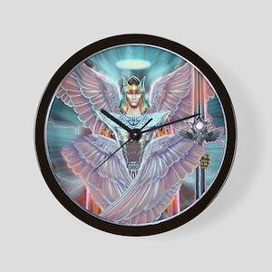 Angel Warrior Wall Clock