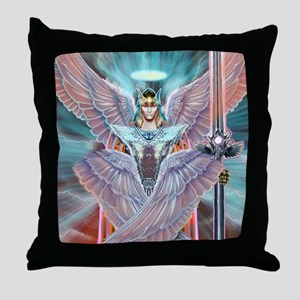 Angel Warrior Throw Pillow
