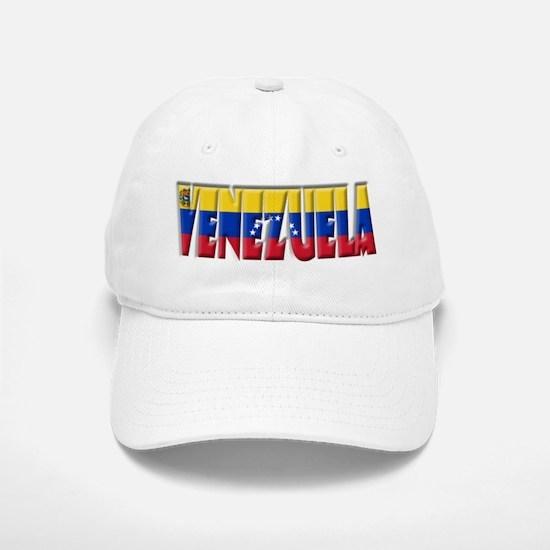 Word Art Flag Venezuela Baseball Baseball Cap