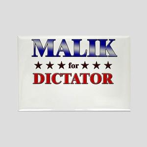 MALIK for dictator Rectangle Magnet