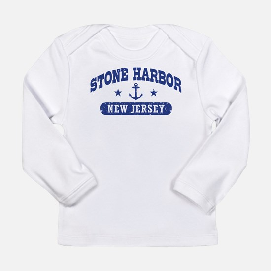 Stone Harbor NJ Long Sleeve Infant T-Shirt