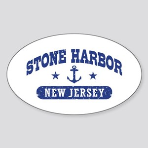 Stone Harbor NJ Sticker (Oval)