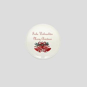 Austrian Christmas Mini Button