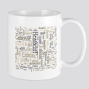 Wuthering Heights Word Cloud Mugs