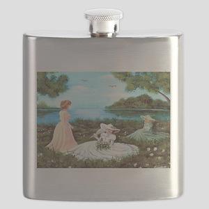 Southern Belles Flask