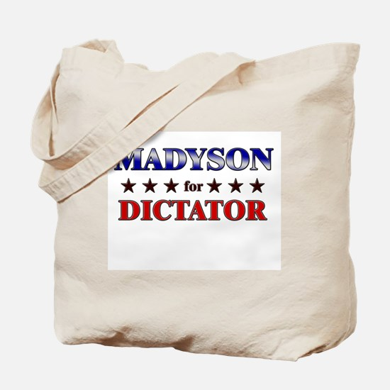 MADYSON for dictator Tote Bag