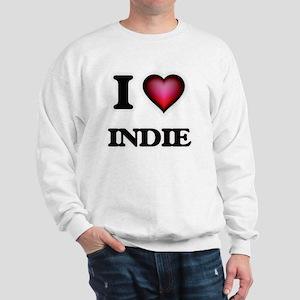 I Love INDIE Sweatshirt