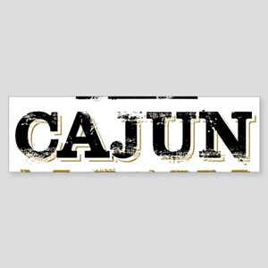 the Cajun Navy blck and gold Bumper Sticker