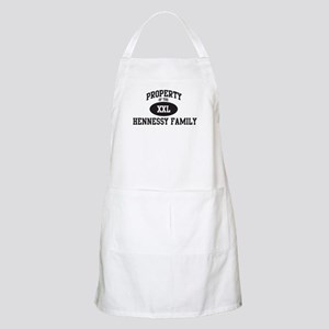Property of Hennessy Family BBQ Apron