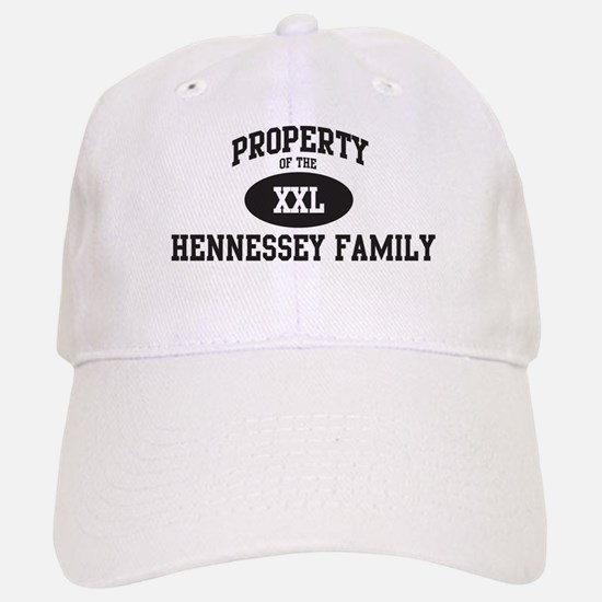 Property of Hennessey Family Baseball Baseball Cap
