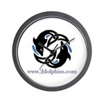 2Dolphins Wall Clock