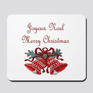 French Christmas Mousepad