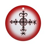 Simbi veve keepsake talisman