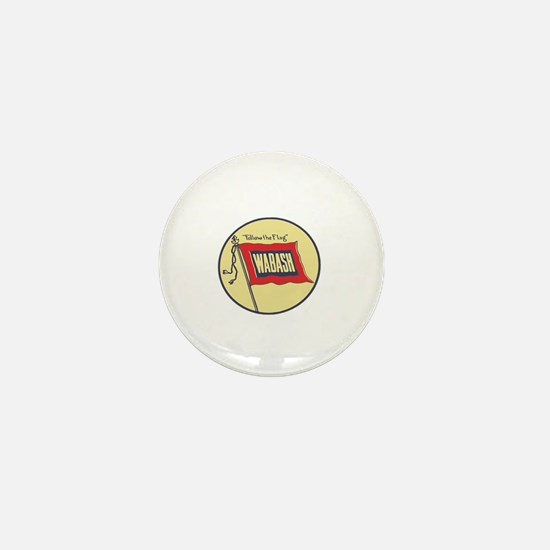 Funny Chicago flag Mini Button