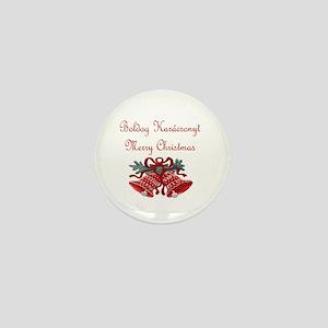 Hungarian Christmas Mini Button
