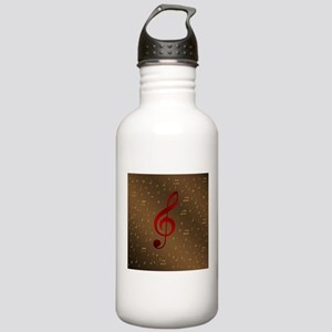 red notes Stainless Water Bottle 1.0L
