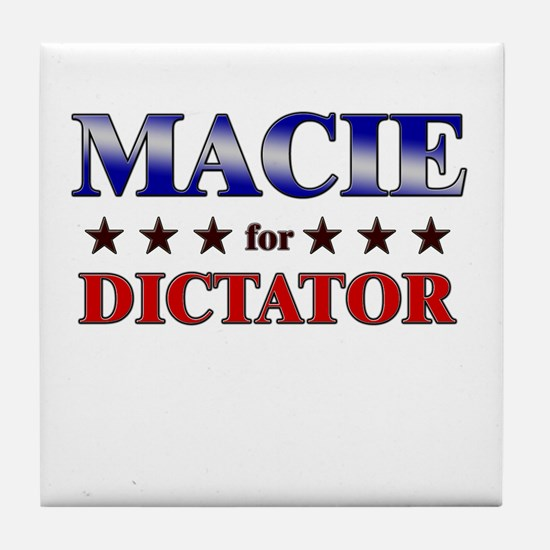 MACIE for dictator Tile Coaster