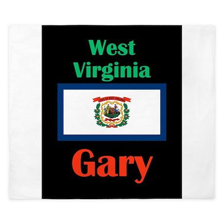 Gary West Virginia King Duvet