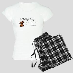 Do The Right Thing Women's Light Pajamas