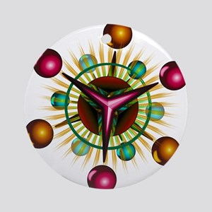 Space Jax Round Ornament