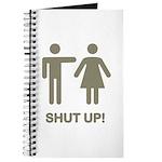 SHUT UP! (GUYS) Journal