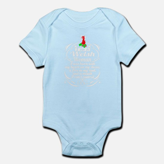 I am a welsh woman T-shirt Body Suit
