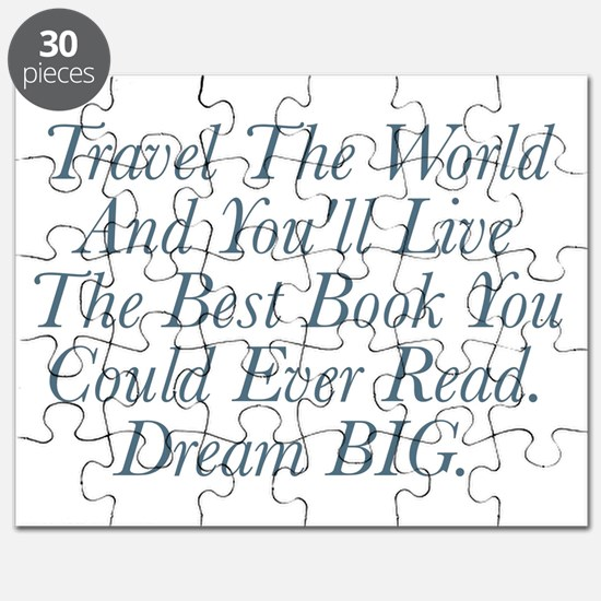 Live The Best Book Puzzle