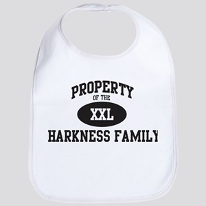 Property of Harkness Family Bib