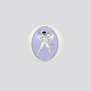 Greek Art Mini Button