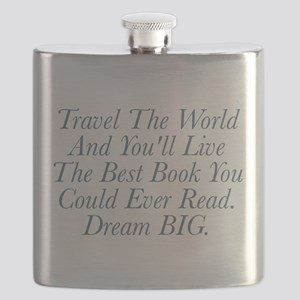 Live The Best Book Flask